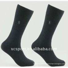 2014 Cheap New Popular Winter Custom Design Soft Black Business Dressing Spandex Breathable Men Sock