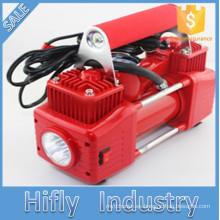 HF-5065 DC12V 2 Cilindro Mini Car Compresor de Aire Portable Heavy Duty Compresor de Aire Neumático inflador bomba