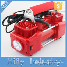 HF-5065 DC12V 2 Cylinder Mini Car Air Compressor Portable Heavy Duty Air compressor Tire inflator Pump