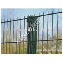 Common Modern Welded Panel Fence
