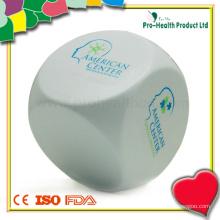 Кубик формы куб офис спорта стресс мяч