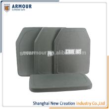 High resistance bullet proof vest insert ballistic resistant plates
