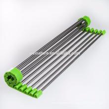 VIVINATURE Über dem Waschbecken Mehrzweck Roll-Up Dish Rack mit warmem Grau oder Edelstahl