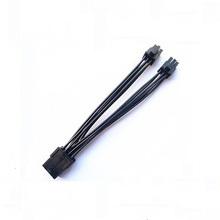Cable del adaptador de corriente de 6 pines a 2 x 6 pines PCI-E Y-Splitter