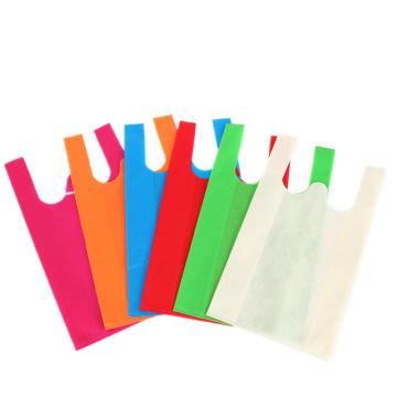 Sacs d'emballage non tissés réutilisables adaptés aux besoins du client
