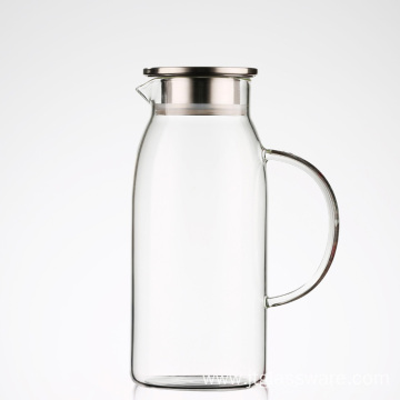 1.8L Hot/Cold Homemade Juice Glass Pitcher