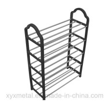 Amazon Sales Portable Knocked Down 5 Levels Metal Shoe Rack