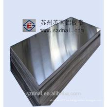 Fabricación de aluminio de placa 3003 H14 utilizado en aire fliter