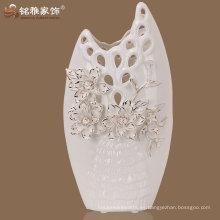 florero de cerámica de alta calidad hecho en China para la exhibición de la tabla casera