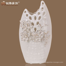 Simple design great quality fashionable flower ceramic decoration vase