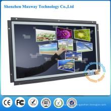 resolução 1366X768 quadro aberto 15.6 polegada monitor de tela de toque HDMI