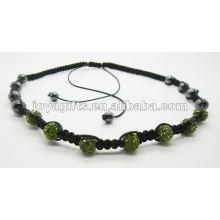 Подарок промотирования 7PCS кристаллический шарик shamballa ожерелье 7 PCS кристаллический шар shamballa