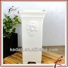 Vaso de flor de cerâmica para decoração