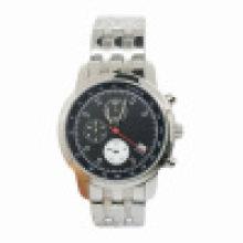 Relógio de aço inoxidável do aço de Staninless do pulso dos homens automáticos quentes do relógio da venda do estilo novo da forma