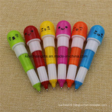 Promotional Custom Plastic Retractable Pill Ball Point Pen