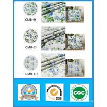 O algodão 100% imprimiu a tela da lona da flor no estoque para sacos e a largura 150cm do peso 180GSM das sapatas