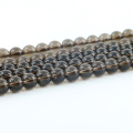 L-0259A Factory price Stylish Smoky Quartz Synthetic Natural Gemstone Beads Strand Bulk Supplies