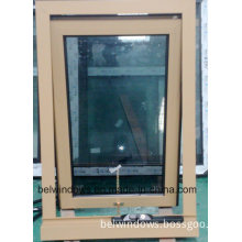 Australia Standard Design Double Glass Aluminum Awning Window with Chain Winder