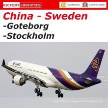 Door to Door Courier Express From China to Sweden