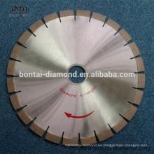 Cuchilla de corte de diamante para hormigón armado