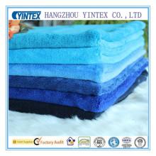 Fabricante suave de la tela de la manta del paño grueso y suave coralino