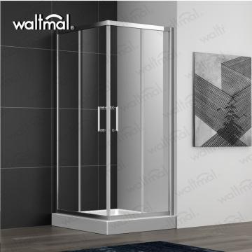 사각형 모양의 알루미늄 프레임 샤워 룸