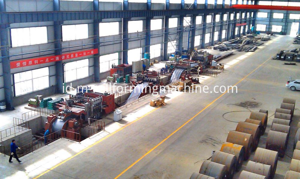 1×1200 mm steel slitting lines