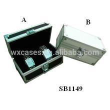 boîtes de montre en aluminium en gros pour 2 montres de l'usine de la Chine