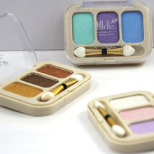 Hot Verkoop 3 Color Shimmer Eyeshadow Sets
