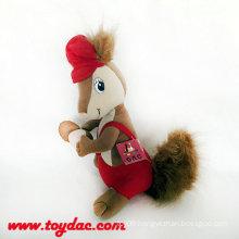 Plush Squirrel Toy