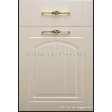 КЛАССИЧЕСКИЙ СТИЛЬ ПВХ, завернутый в кухонный шкаф, дверь