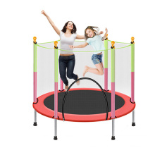 Children Classical Round Trampoline with Safety Net