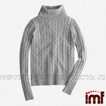Женский кашемировый свитер с черепахой
