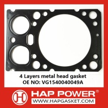 Stery 4 Layers metal head gasket VG1540040049A