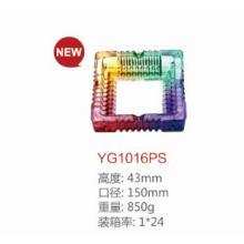 Cinzeiro de vidro Colourfull Dg-1372