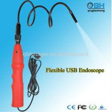 1.3Mega Pixels impermeable Mini USB Recorder Borescope con 4 luces LED