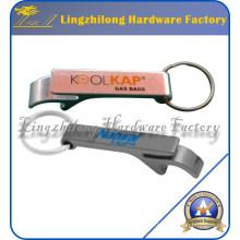 Keychain de ouvreur de logo de logo personnalisé