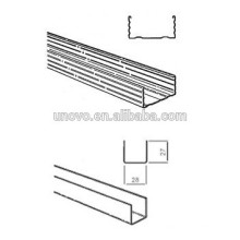 Sigma Profil Treibhaus Metall Rinne