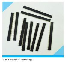 Connecteur femelle d'en-tête de Pin de carte PCB de rangée de 10 PCS 1X40 Pin 2.54mm droit simple