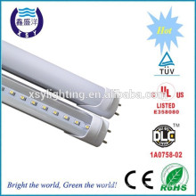 T8 Дооснащение 100lm / w 1200mm 18w привело свет трубки Шэньчжэнь DLC UL TUV CE RoHS