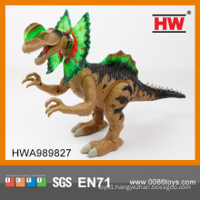 New item battery operated plastic dinosaur toys
