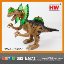 Novo item bateria operado dinossauro brinquedos de plástico