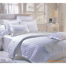 Style de mode différentes couleurs disponibles en gros literie set for hotel