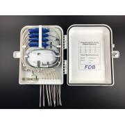 8/16 ports fiber optic terminal box pigtails