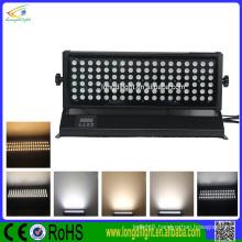 High Luminous DMX Wireless 108*1/3W RGB Waterproof Outdoor LED Wall Washer Light