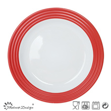 27cm Ceramic Dinner Plate with Decal Printing