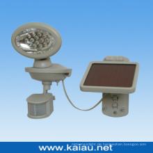 14PCS LED-Sensor-Licht mit Sonnenkollektor