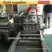 Máquina de granulación de PVC PP rígida de plástico