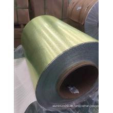 Aluminium geprägtes Blatt-Spulen-Kiesel-Muster für das Bedachung