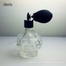 Bouteille de parfum vintage classique unisexe de 75 ml